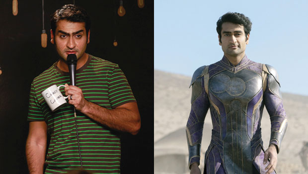 Kumail Nanjiani's Buff Transformation: Photos Of The Marvel Star Getting Ripped For 'Eternals' Role
