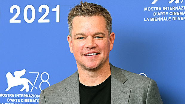 Matt Damon Shows Off Red Mohawk His Daughters Gave Him That Made Him Look 'Like A Rooster'.jpg