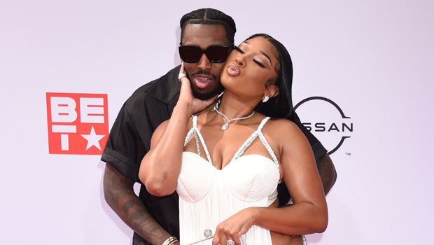 Megan Thee Stallion's Boyfriend Pardi Fontaine Drinks A Cocktail From Her Butt On 1-Year Anniversary