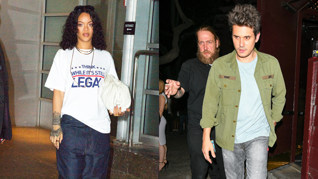 Rihanna & John Mayer Fans Think They're Collaborating On New Music After They Go To Dinner Together.jpg
