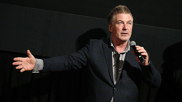 Alec Baldwin Embraces Halyna Hutchins' Husband As He Arrives With Son, 9, In New Mexico