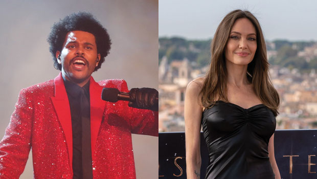 Angelina Jolie Awkwardly Smiles When Asked About Her 'Friendship' With The Weeknd — Watch
