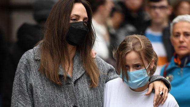 Vivienne Jolie-Pitt, 13, Is Nearly As Tall As Mom Angelina Jolie On London Shopping Date.jpg