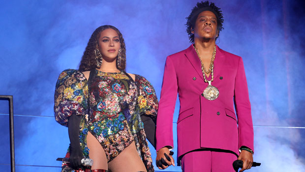 Beyoncé Is Gorgeous In A High Slit Blue Gown For Sexy Date Night With Jay-Z — Photos.jpg