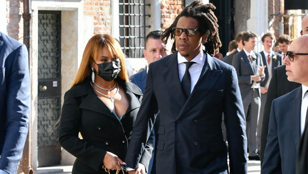 Beyoncé & Jay-Z Hold Hands As They Head To Alexandre Arnault's Glam Wedding In Venice