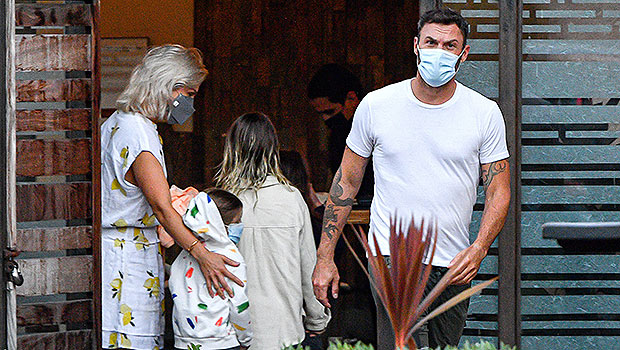 Brian Austin Green & Sharna Burgess Head To Dinner With His Kids After He Finalizes Divorce