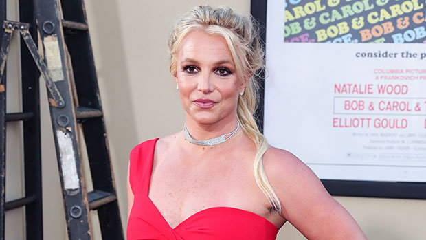 Britney Spears Poses For New Photo Without A Shirt On As She Sounds Off On 'Body Image'.jpg