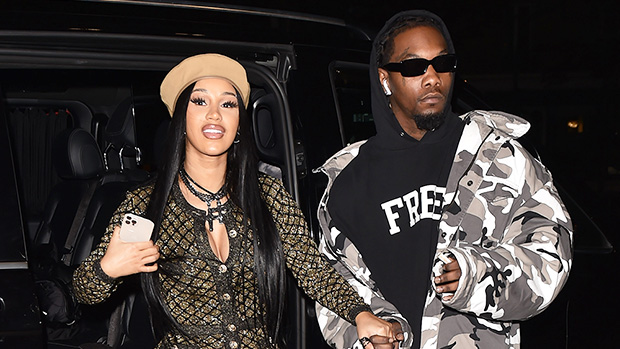 Cardi B Sizzles In Gold Sequin Catsuit & Denies She Got A Tummy Tuck After Giving Birth To Son.jpg