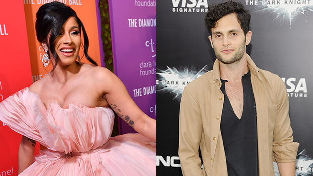 Cardi B & Penn Badgley Become The Internet's New Fave BFFs After They Rave Over Each Other.jpg