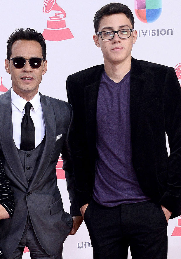 Marc Anthony et son fils Cristian