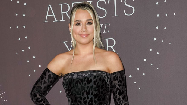 Gabby Barrett Stuns In Strapless Black Gown As Honoree At 'CMT Artists Of The Year'
