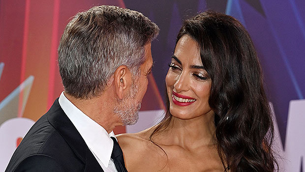 Amal Clooney Is Stunning In Strapless Gown On Red Carpet With George At London Film Fest — Photos thumbnail