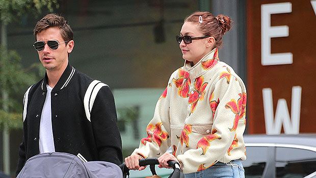 Gigi Hadid Glows As She Takes Daughter Khai, 1, For A Stroll In NYC – Photos