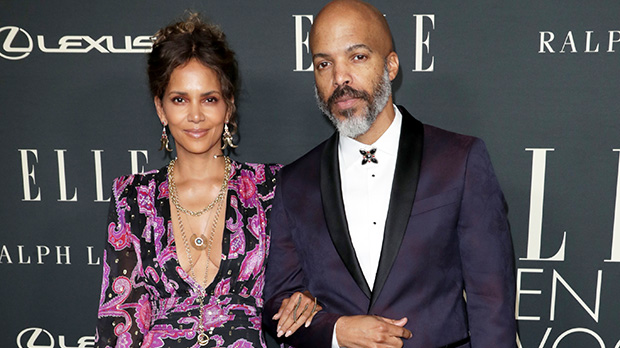 Halle Berry Slays In Plunging Gown & Cozies Up To BF Van Hunt At 'ELLE' Women In Hollywood.jpg