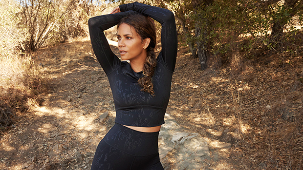 Halle Berry, 55, Rocks Cropped Shirt With Leggings & More Activewear Looks For Sweaty Betty.jpg