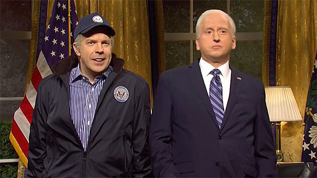 Jason Sudeikis Reprises His 'Joe Biden' Alongside James Austin Johnson & Alex Moffat's On 'SNL'