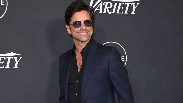 John Stamos Goes Shirtless As He Reunites With 'Full House' Co-Star Dave Coulier For A Selfie