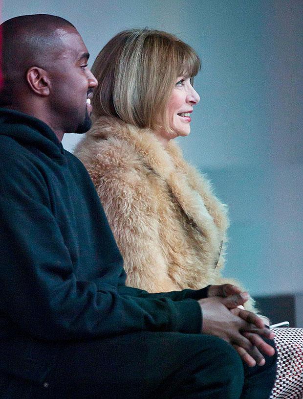 Kanye West, Anna Wintour