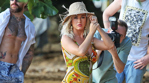 Katy Perry Rocks One-Piece Swimsuit As Celebrates 37th Birthday on Vacation With Orlando Bloom.jpg