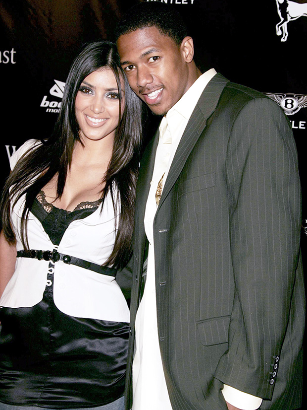kim kardashian nick cannon