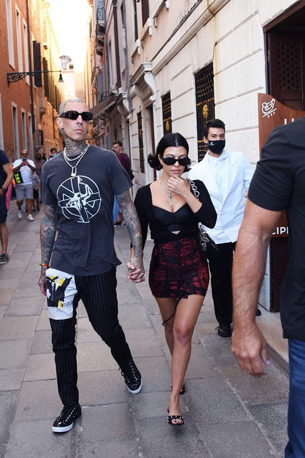 Travis Barker & Kourtney Kardashian