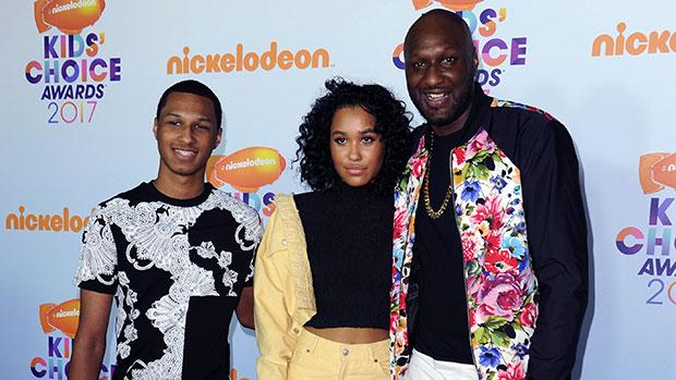 Lamar Odom & his kids