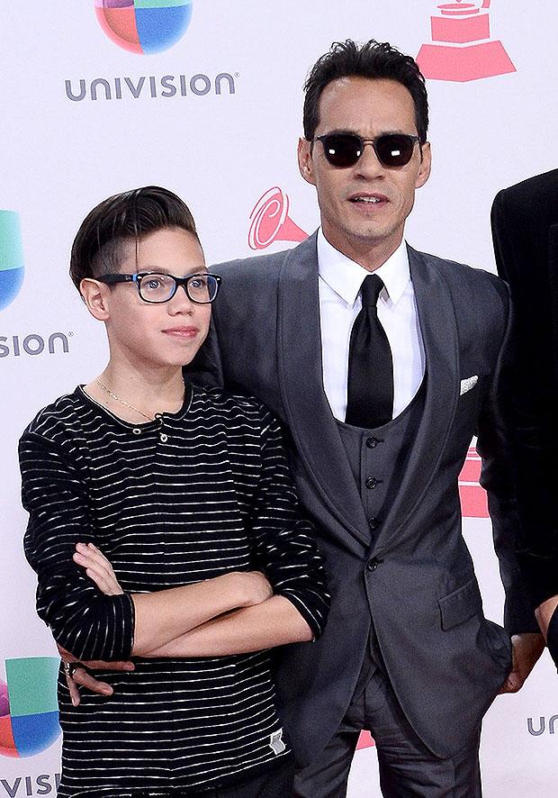 Marc Anthony et son fils Ryan