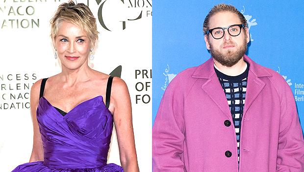 Sharon Stone and Jonah Hill