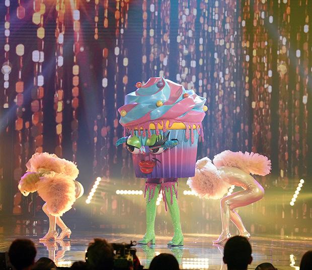 The Masked Singer Cupcake