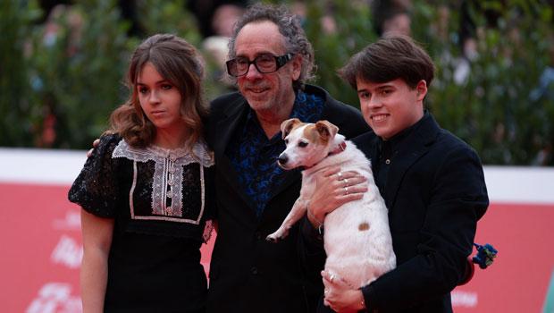 Tim Burton & Helena Bonham Carter's Rarely Seen Kids Billy Ray, 18, & Nell, 13, Attend Film Screening