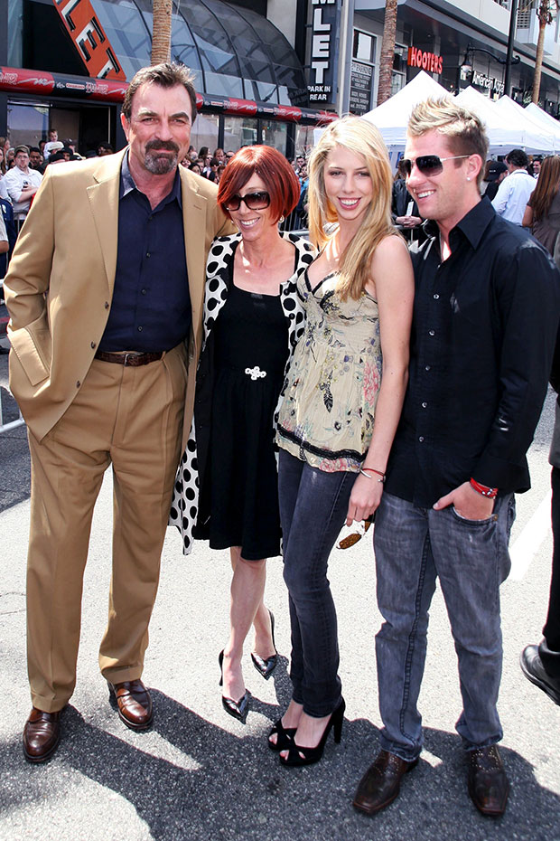 Tom Selleck and his kids